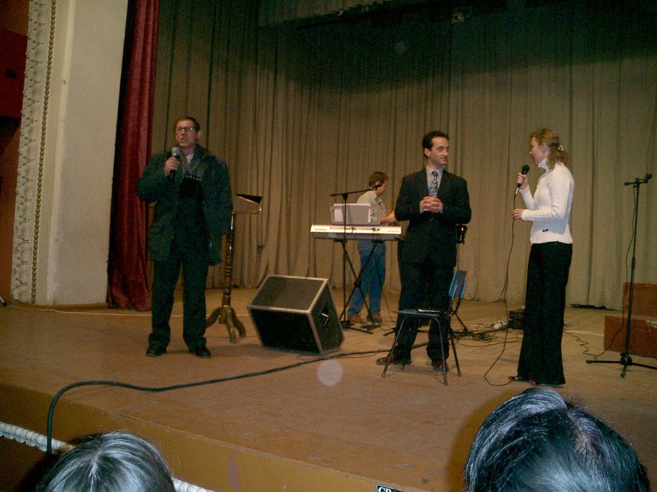 Veronesch Russia Evangelistic Campain