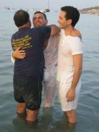 River of Love, full water (immersions) Baptisms